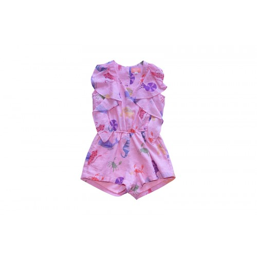 SEA ANIMALS JUMPSUIT(PINK) - 2만원 균일가