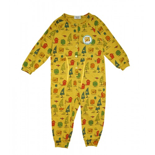 MONSTER JUMPSUIT (YELLOW) - 80% 할인