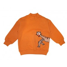 TIGER SWEATSHIRT (ORANGE)