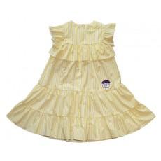 YELLOW STRIPE DRESS (YELLOW)
