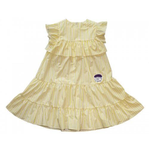 YELLOW STRIPE DRESS (YELLOW) - 50% 할인