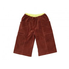 CLASSIC WIDE TROUSERS (BROWN)
