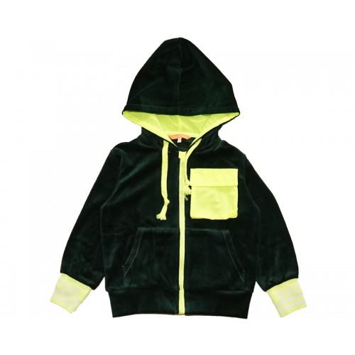 PLAY HOODY ZIP-UP (GREEN) - 50% 할인
