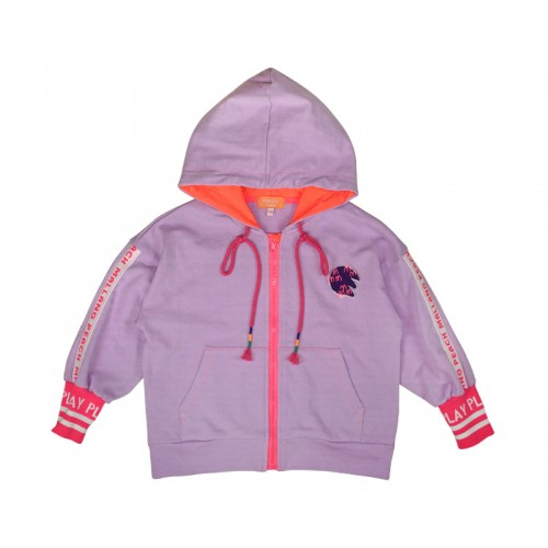 COLOUR PLAY ZIP-UP (PINK)