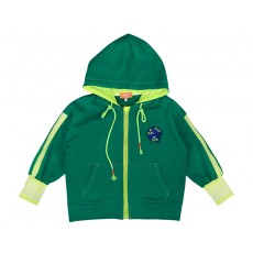 COLOUR PLAY ZIP-UP (GREEN)