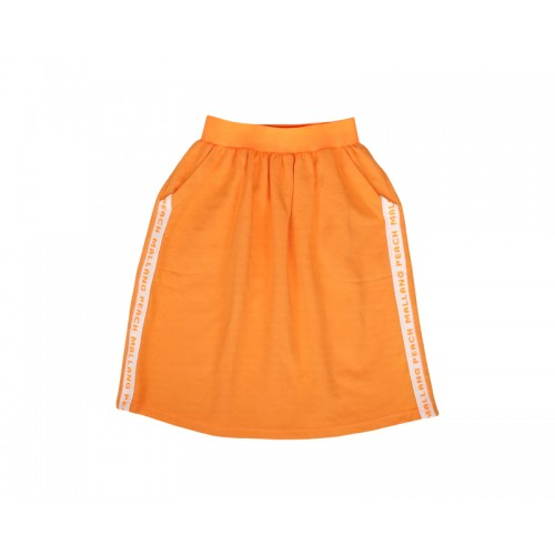 COLOUR PLAY SKIRT (ORANGE)