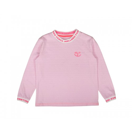 BASIC LOGO T-SHIRT (PINK) - 50% 할인