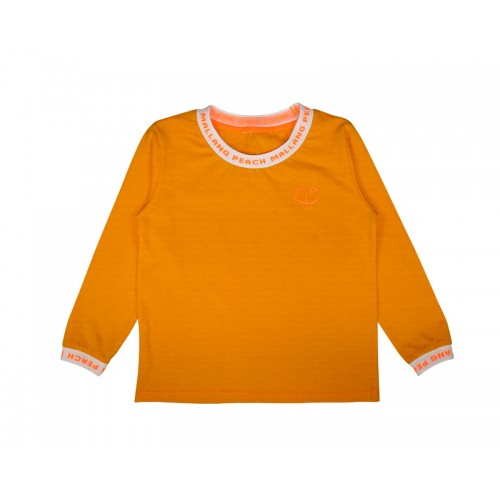 BASIC LOGO T-SHIRT (ORANGE) - 50% 할인