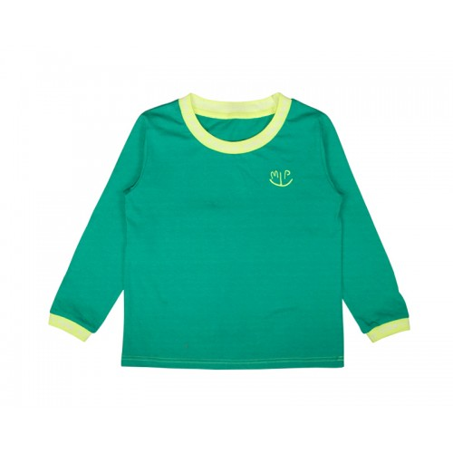 BASIC LOGO T-SHIRT (GREEN) - 50% 할인
