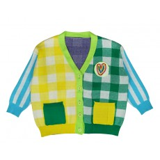 MY RAINBOW CARDIGAN (YELLOW) PRE-ORDER