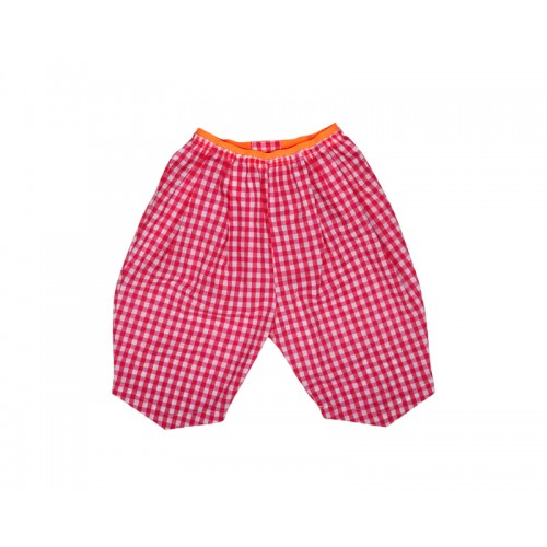 GINGHAM CHECK SHORTS (PINK)