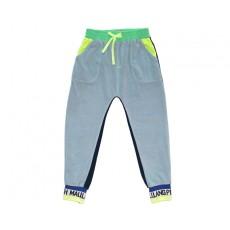VELVET COLOUR BLOCK PANTS (BLUE) - 20% 할인