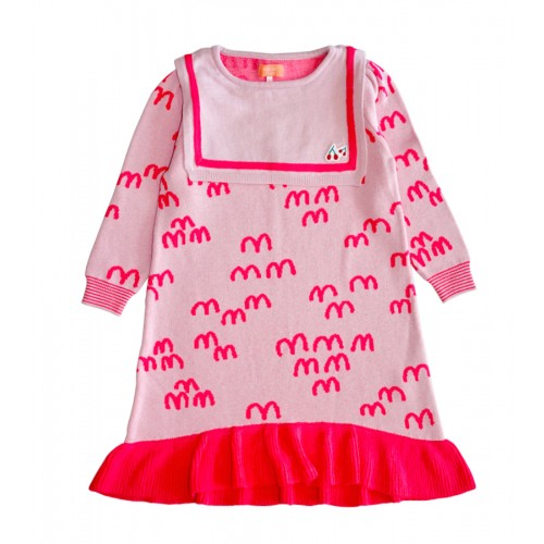 MM KNIT DRESS (PINK)