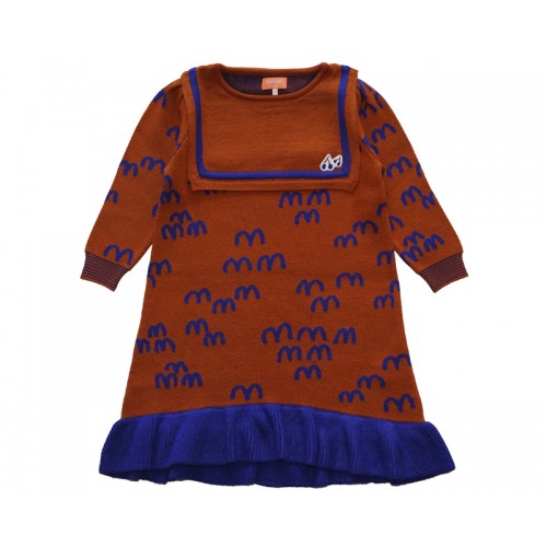 MM KNIT DRESS (BROWN) - 20% 할인