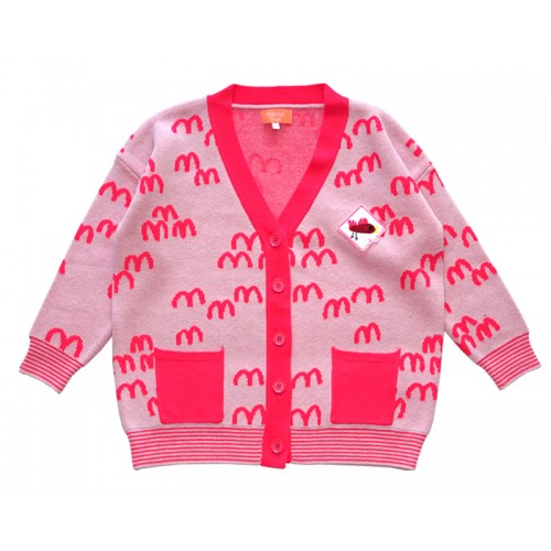 MM KNIT CARDIGAN (PINK) - 20% 할인