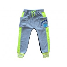 RAINBOW FLEECE PANTS (BLUE)