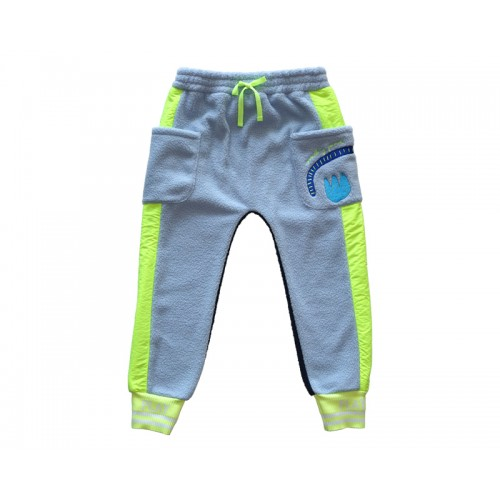 RAINBOW FLEECE PANTS (BLUE) - 30% 할인