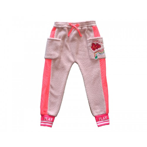 RAINBOW FLEECE PANTS (PINK) - 30% 할인