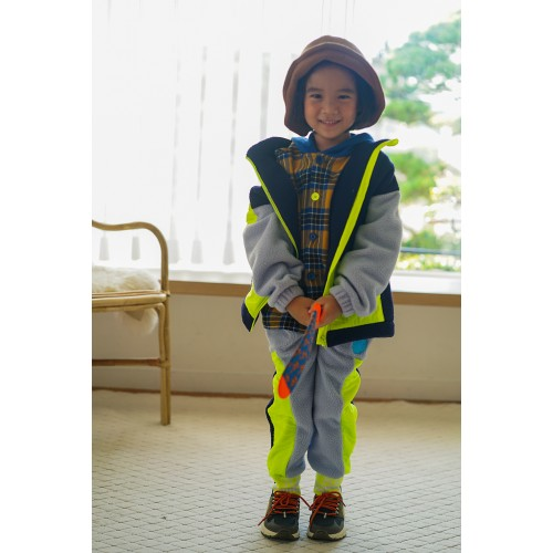 RAINBOW FLEECE JUMPER (BLUE) - 30% 할인