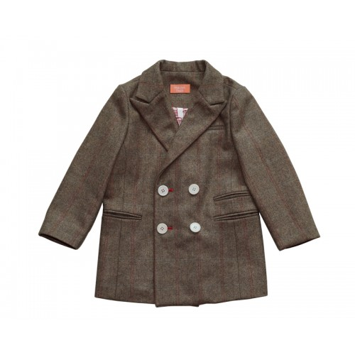 CLASSIC DOUBLE JACKET (BROWN) - 50% 할인